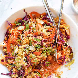 Quick Korean Spicy Slaw Recipe