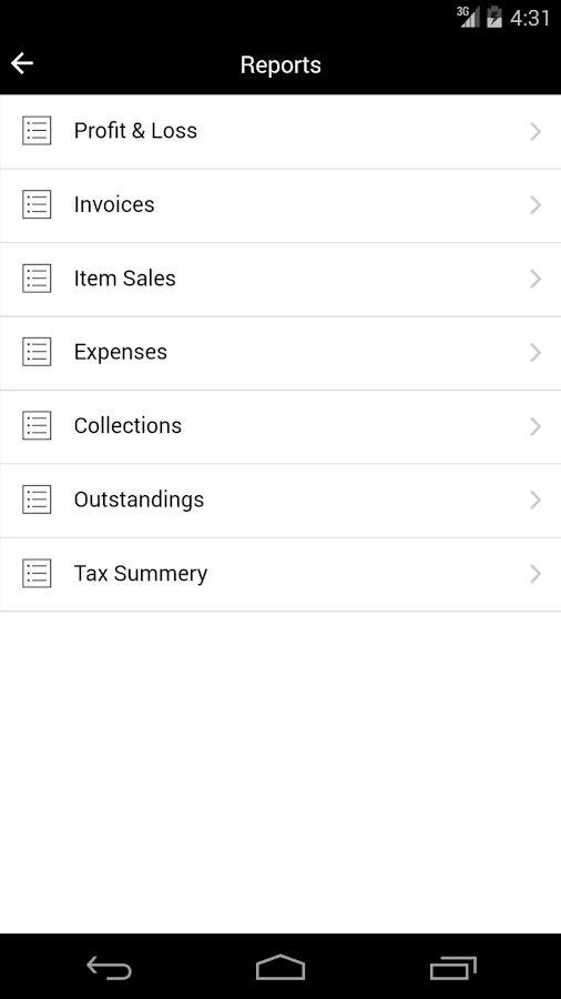 Billbooks- screenshot