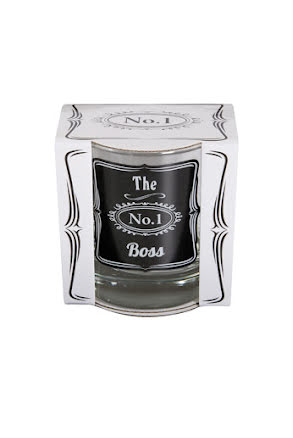 "Whiskeyglas ""The boss"""