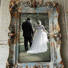 Hand in hand by Todd Wallarab - Wedding Bride & Groom ( love, bride, groom, wedding, newlywed )