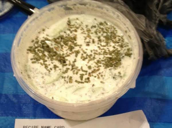 Sour Cream And Cukcumbers Recipe