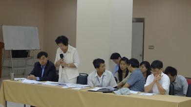 Photo: 交通部副處長解釋條文