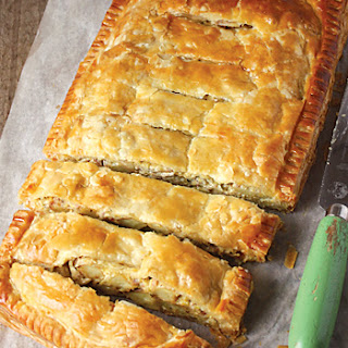 Potato & Leek Slab Pie.