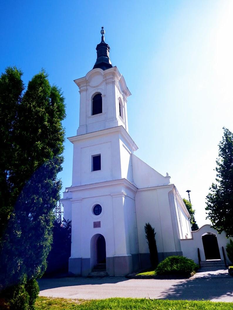 Gyermely - református templom