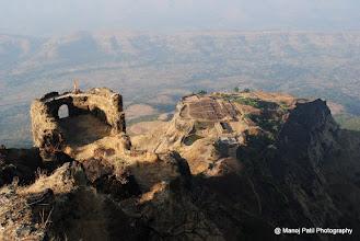"Photo: Padmavati Machi and it's ""Rakshak Huda"""