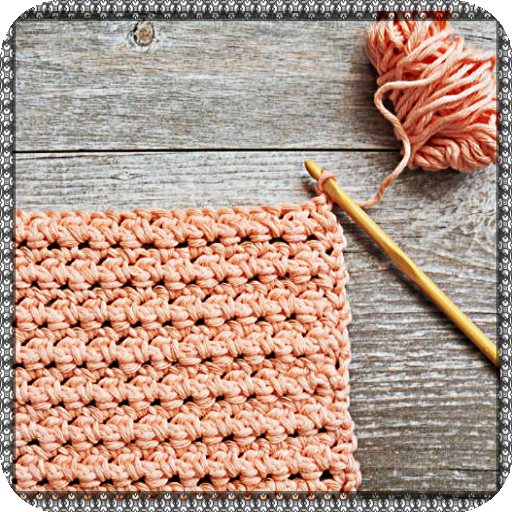 Tutorial learn crochet knitting