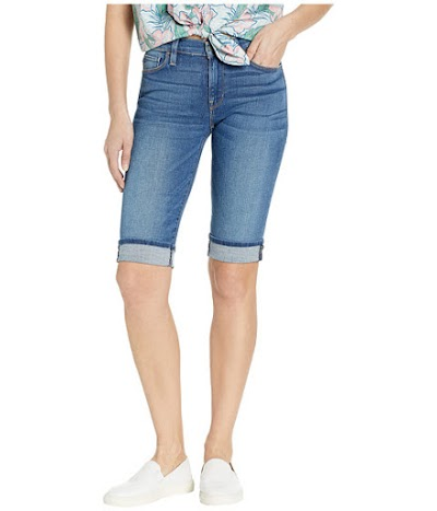 Imbracaminte Femei Hudson Jeans Amelia Cuffed Knee Shorts in Vision Vision