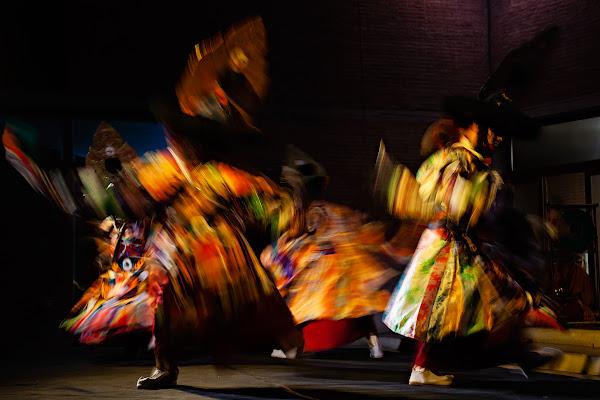 La danza dei colori di Silvano