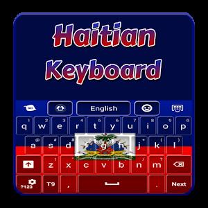 Haitian Flag Keyboard