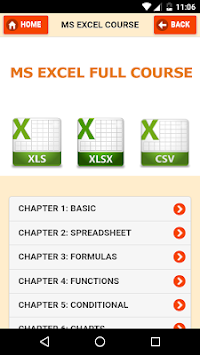 Learn MS Excel Course & Keys APK Latest Version Download