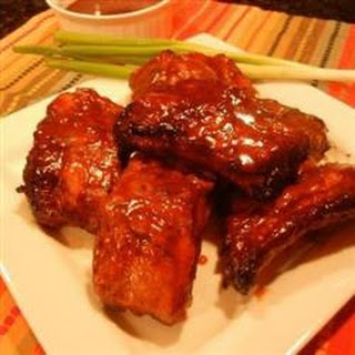 Chinese Barbeque Pork Ribs.
