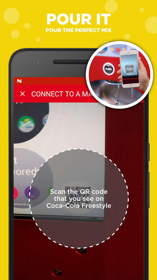 how to get a coca cola freestyle machine