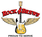 Logo for Rock & Brews Corona