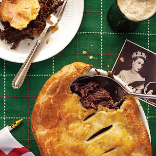 Beef Cheek and Stout Pie with Stilton Pastry.