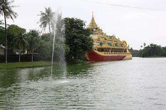 Photo: Year 2 Day 54 -  Government Run Restaurant at Kandawgyi Lake in Yangon