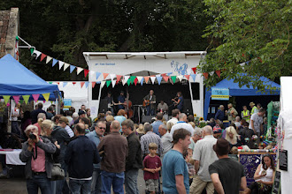 Photo: Free Village Green Stage © Priston Festival 2012