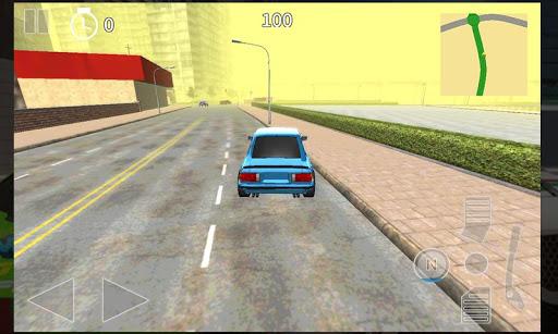 城市賽車3D:渦輪增壓運行