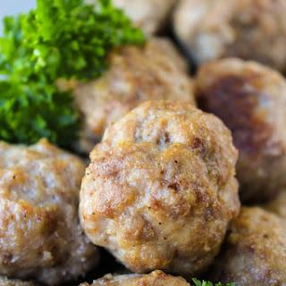 Easy Baked Meatballs