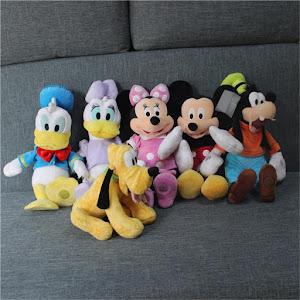 Set 6 jucarii din plus Disney 30 cm oferta reducere 3