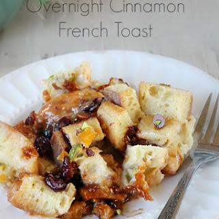 Overnight Cinnamon French Toast