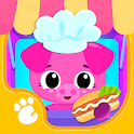 Cute & Tiny Food Trucks - Cooking with Baby Pets icon