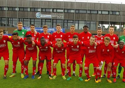 Standard : Les U21 perdent contre la Gantoise