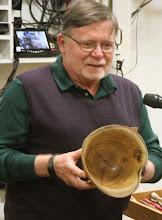"Photo: Dick Webster - endgrain mulberry bowl 9""x7"""