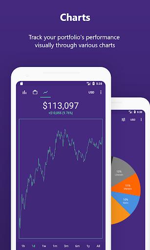 Bitrift - Cryptocurrency Portfolio & Widgets hack tool