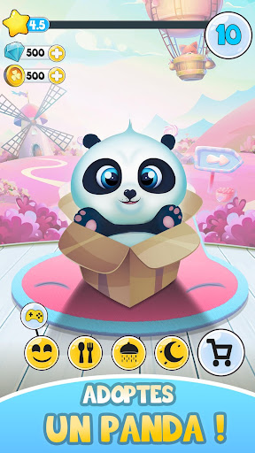 Télécharger Pu - Bebe animaux virtuel mignons à s'occuper APK MOD (Astuce) screenshots 1