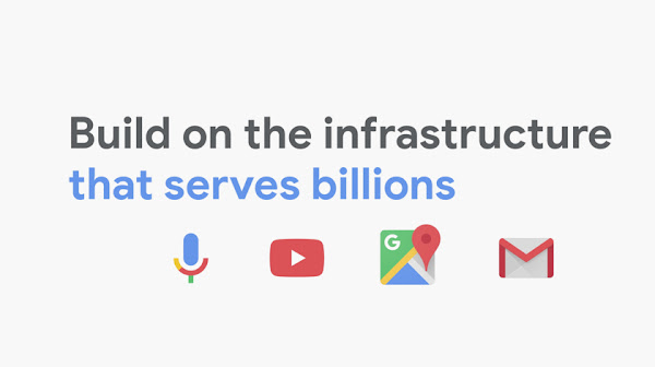 """Title page for video: """"Build on the infrastructure that serves billions"""
