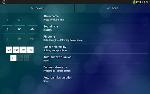 Alarm Clock Xtreme Free +Timer - screenshot thumbnail