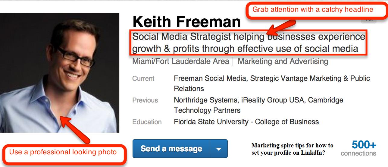 LinkedIn Marketing - Marketingspire