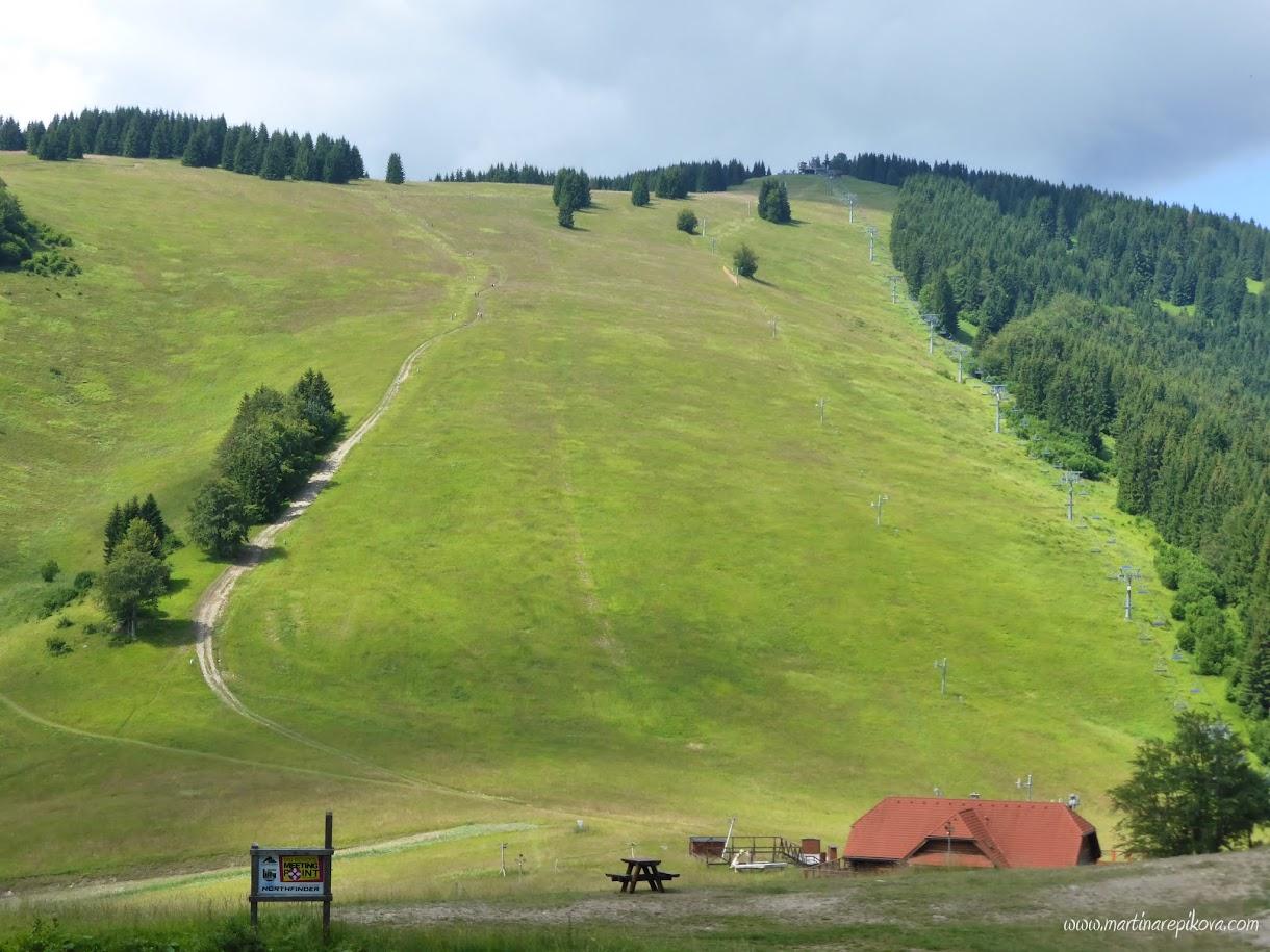 Malino Brdo hill, Slovakia