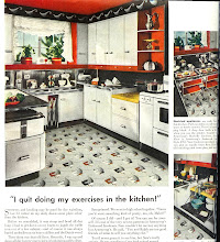 Photo: 1947 ad for Armstrong floors.