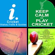 Cricket Status,Trolls & Quotes