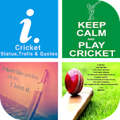 Cricket Status,Trolls & Quotes