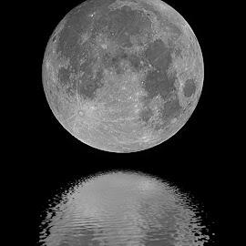 Moon shadow by Christian Wilen - Digital Art Things ( cirre1 )