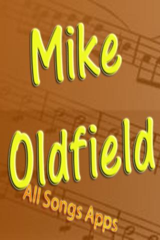 All Songs of Mike Oldfield