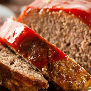 Low Carb BBQ Turkey Meatloaf.