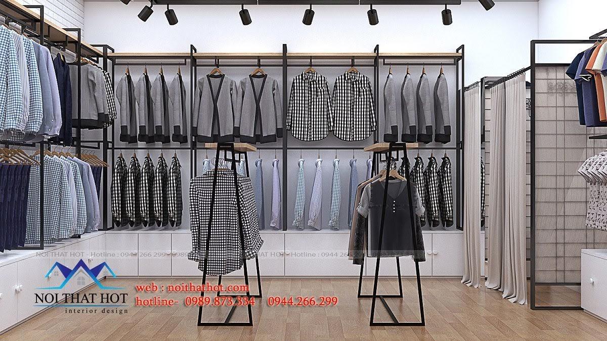 thiết kế shop thời trang uniqlo 9
