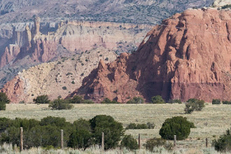 Photo: Talus natural arch seen from a distance; PEEC Slot canyons hike with Doug Scott