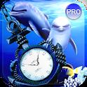 Clock Aquarium Live Wallpaper icon