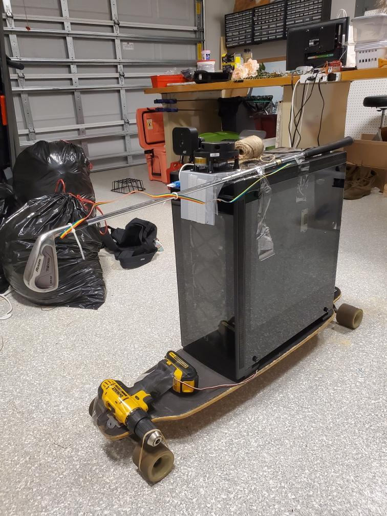 Mrs. Robot physical implementation. Real Time SLAM Robot System