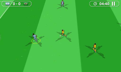 南米サッカーゲーム