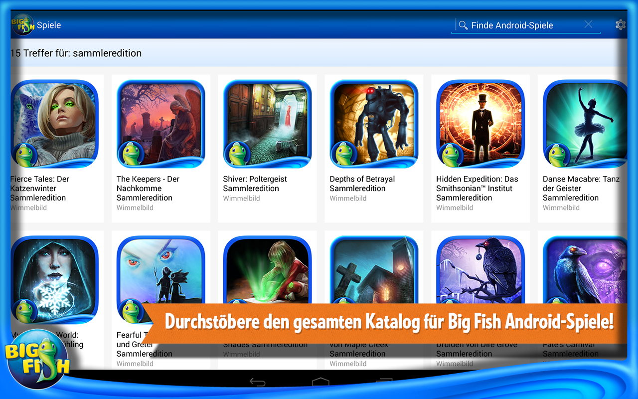 Big fish spiele app android apps auf google play for Big fish games for android