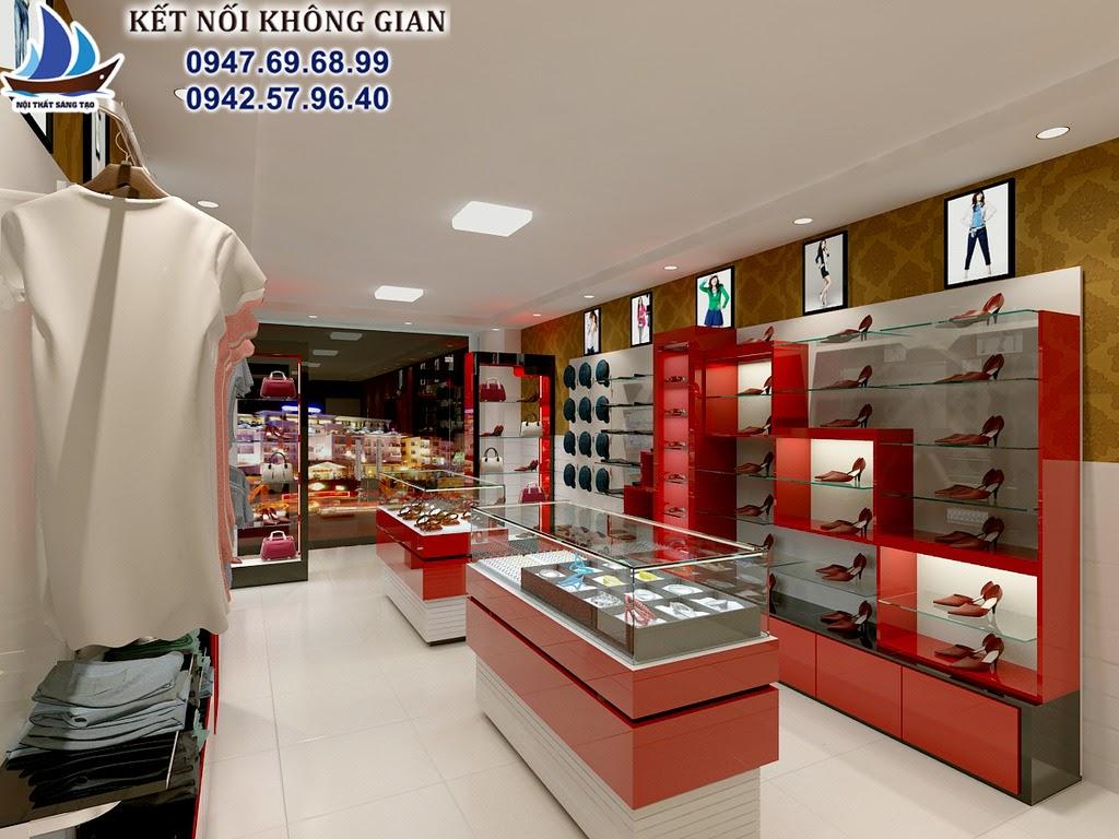 thiết kế shop thời trang hiện đại 4