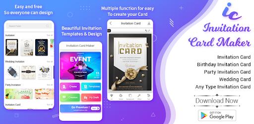 Invitation Maker Invitation Card Maker Apps On Google Play