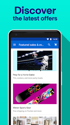 Screenshot 3 for eBay's Android app'