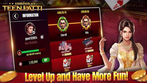 Teen Patti Comfun-3 Patti Flash Card Game Online screenshot 5