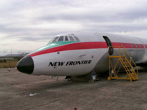 Photo: Bristol Britannia G-ANCF at Speke in August 2007, 6 months after arrival © Andrew Appleton